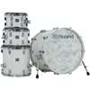 Roland VAD706-PW V-Drums Acoustic Design Kit Pearl White