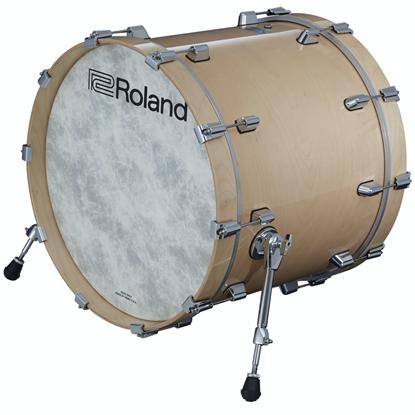 Roland KD-222-GN Kick Drum Pad Gloss Natural