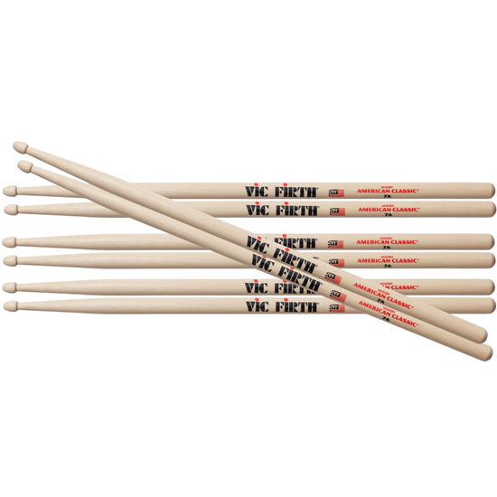 Vic Firth American Classic® 7A Value Pack