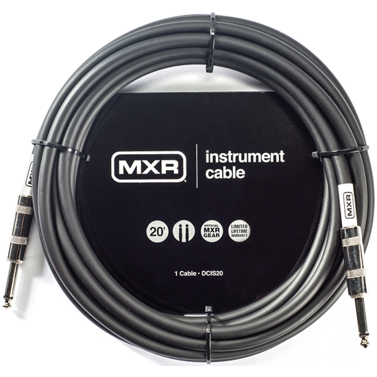 MXR 20ft Standard Instrument Cable Straight/Straight