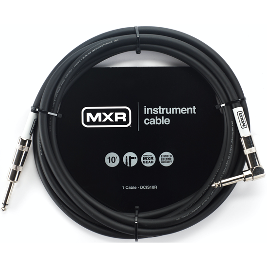 MXR 10ft Standard Instrument Cable Right/Straight