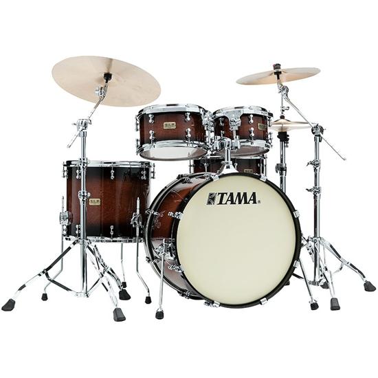 Tama S.L.P. Drum Kit Dynamic Kapur LKP42HTS-GKP Gloss Black Kapur Burst