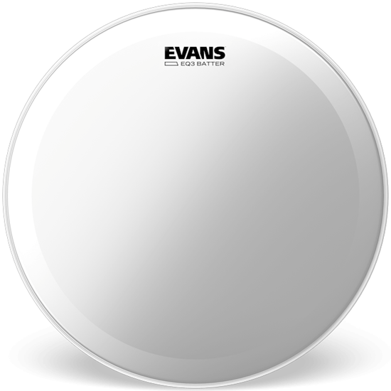 """Evans EQ3 22"""" Clear Bass Drumhead"""
