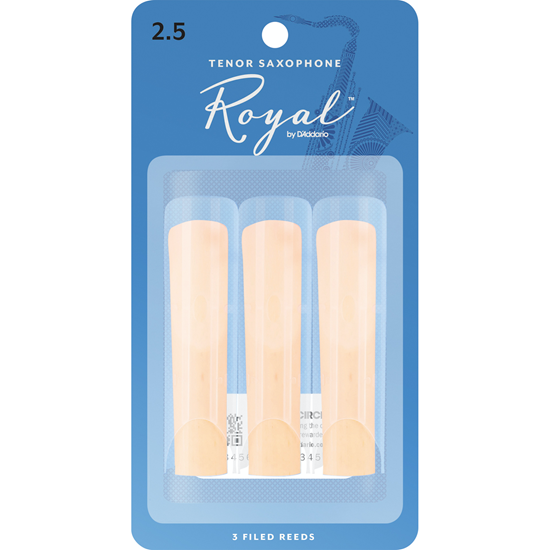 Rico Royal RKB0325 Tenorsaxofon 2.5 3-Pack
