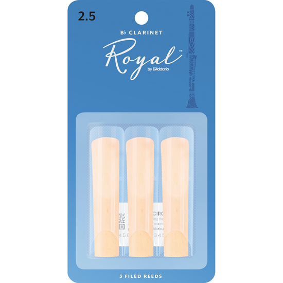 Rico Royal RCB0325 Klarinett 2.5 3-Pack