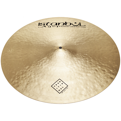 "Istanbul Agop 20"" Traditional Jazz Ride"