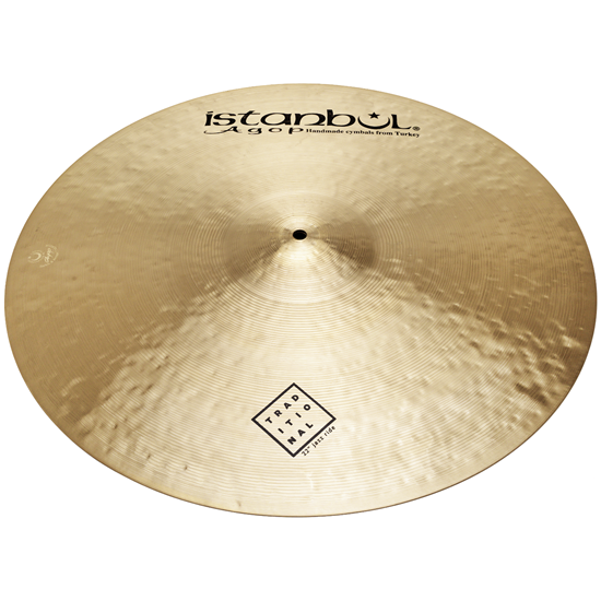 "Istanbul Agop 22"" Traditional Jazz Ride"