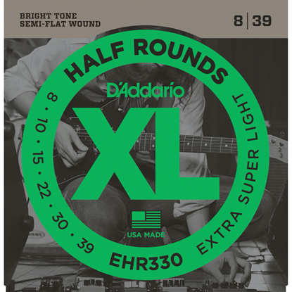 D'Addario EHR330 Half Rounds
