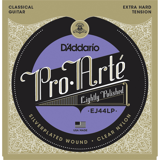 D'Addario EJ44 Pro Arté Extra Hard Tension Polished