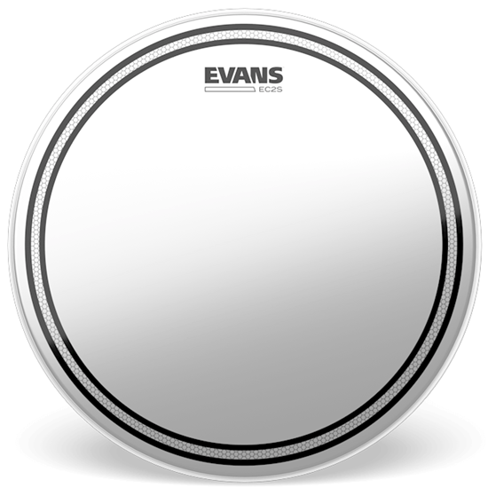 """Evans EC2S 13"""" Frosted Drumhead"""