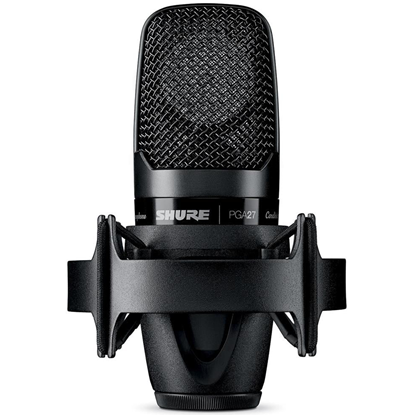 Shure PGA27 Cardioid Large Diaphragm Side-Adress Condenser Microphone