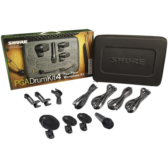 Shure PGADRUMKIT4 Drum Microphone Kit