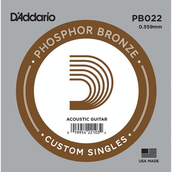 D'Addario PB022 Phosphor Bronze