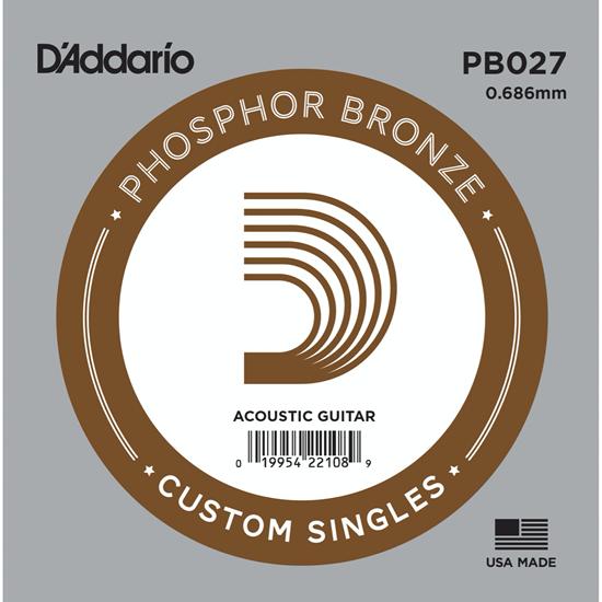 D'Addario PB027 Phosphor Bronze