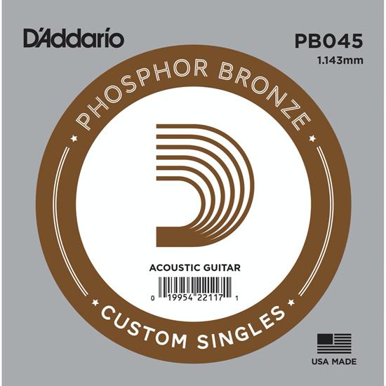 D'Addario PB045 Phosphor Bronze