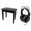 Tillbehörspaket med möbelpall (fast höjd med förvaring) och hörlur. OBS! Säljs separat.