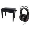 Tillbehörspaket med möbelpall (steglöst justerbar höjd) och hörlur. OBS! Säljs separat.