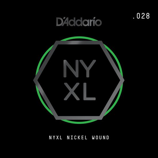 D'Addario NYNW028 NYXL Nickel Wound