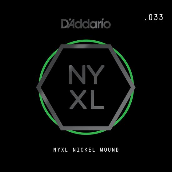 D'Addario NYNW033 NYXL Nickel Wound