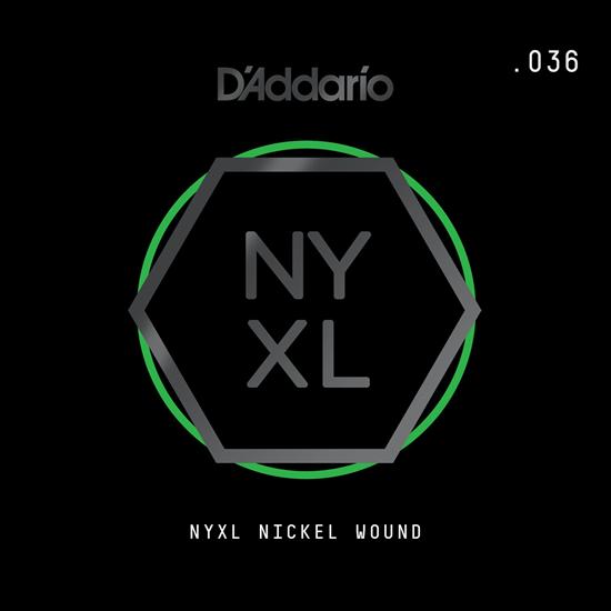 D'Addario NYNW036 NYXL Nickel Wound