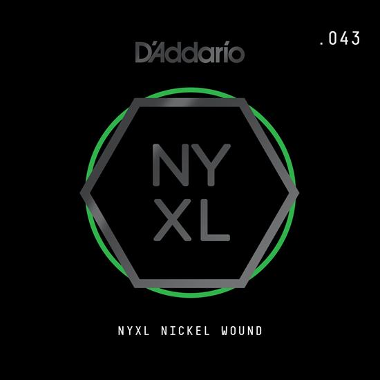D'Addario NYNW043 NYXL Nickel Wound