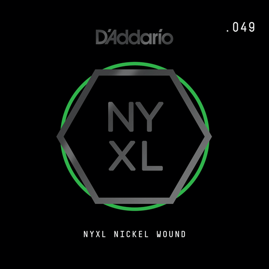 D'Addario NYNW049 NYXL Nickel Wound