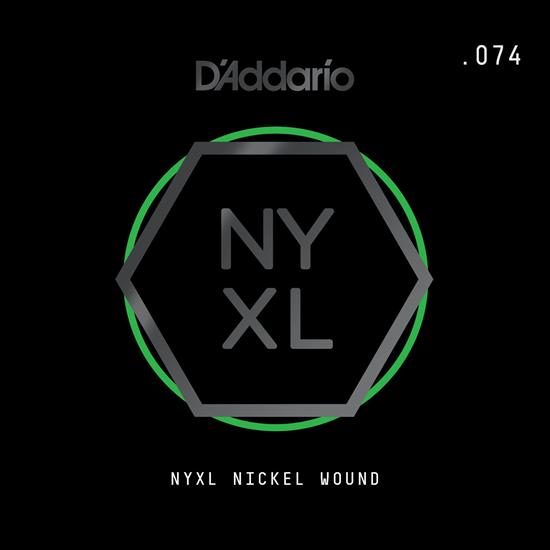 D'Addario NYNW074 NYXL Nickel Wound