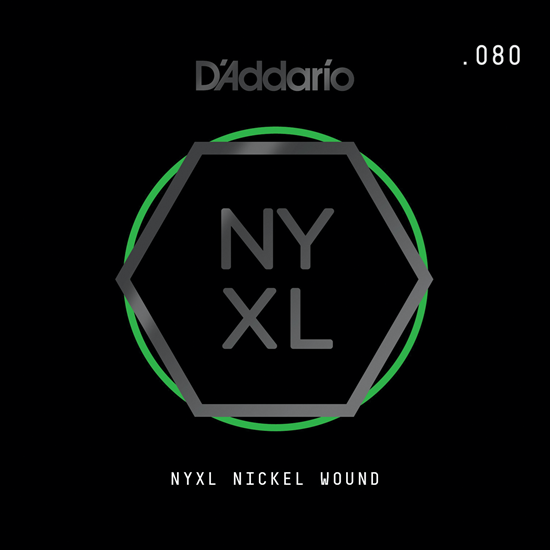 D'Addario NYNW080 NYXL Nickel Wound