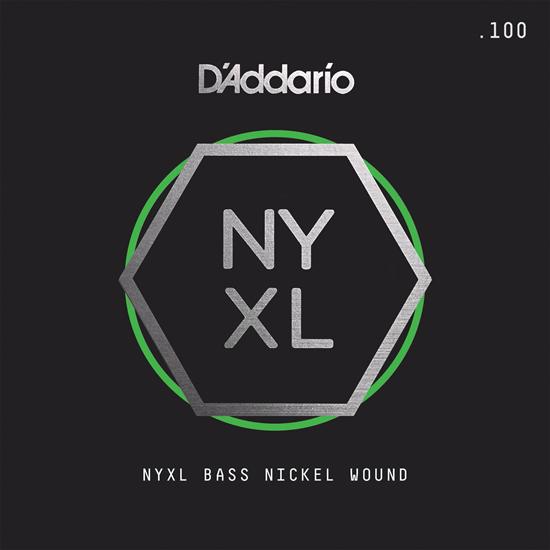 D'Addario NYXLB100 NYXL Single Nickel Wound