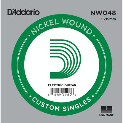 D'Addario NW048 Nickel Wound