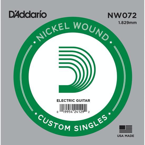 D'Addario NW072 Nickel Wound