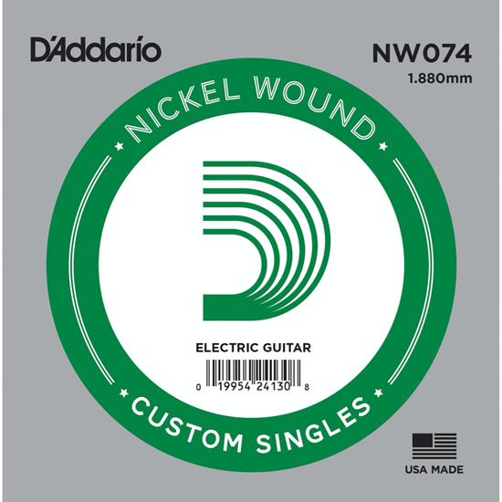 D'Addario NW074 Nickel Wound