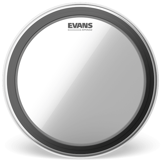 """Evans EMAD 2 18"""" Bass Drumhead"""