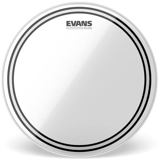 """Evans EC2S 18"""" Clear Drumhead"""