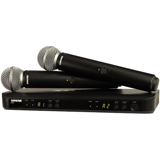 Shure BLX288/PG58 Wireless Dual Vocal System