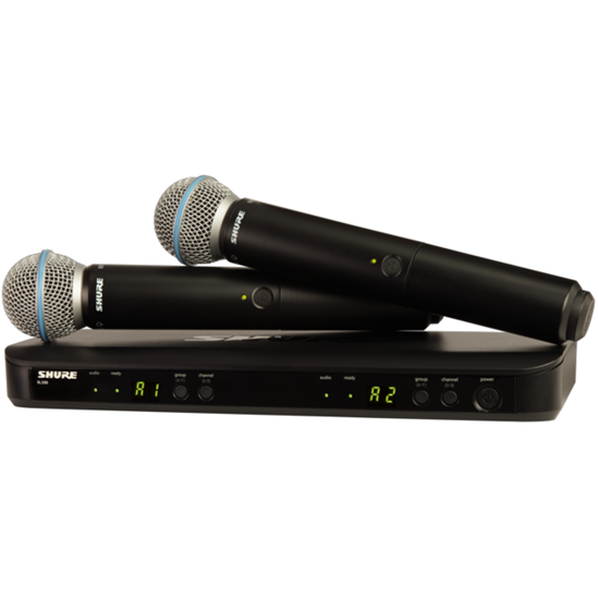 Shure BLX288/B58 Wireless Dual Vocal System