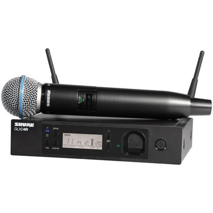 Shure  GLXD24R-B58 Advanced Digital Wireless Vocal System
