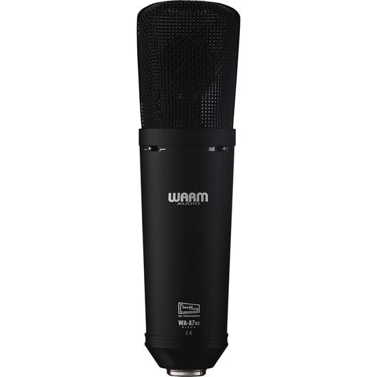 Warm Audio WA-87 R2 Black FET Condenser Microphone