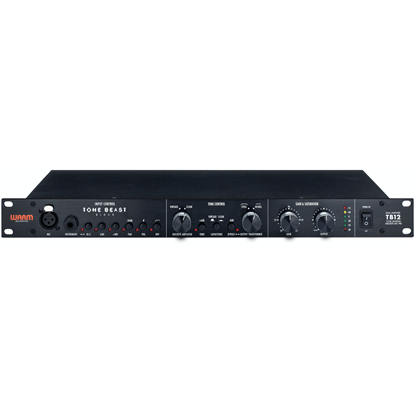 "Warm Audio TB12 Black ""Tone Beast"" Tone Shaping Mic Pre"