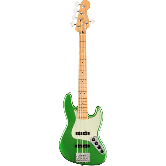 Fender Player Plus Jazz Bass® V Maple Fingerboard Cosmic Jade