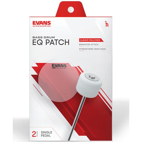 Evans EQ Patch Clear Plastic Single Patch EQPC1