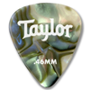 Taylor Celluloid 351 Guitar Picks Abalone 0,46 mm 12-Pack