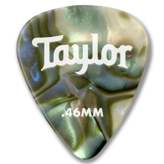 Taylor Celluloid 351 Guitar Picks Abalone 0,96 mm 12-Pack. OBS! Fel bild!