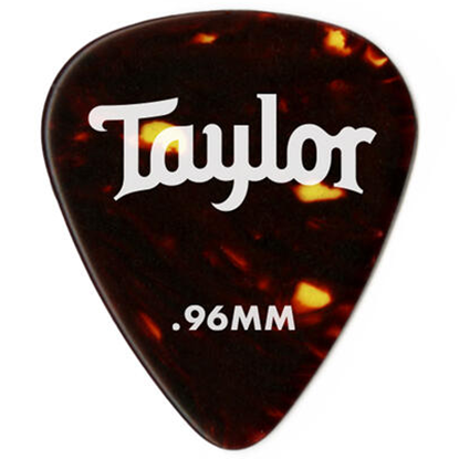 Taylor Celluloid 351 Guitar PicksTortoise Shell 0,46 mm 12-Pack