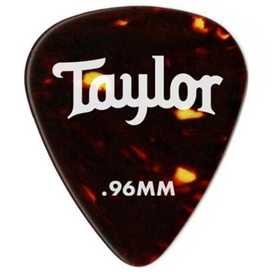 Taylor Celluloid 351 Guitar PicksTortoise Shell 0,71 mm 12-Pack