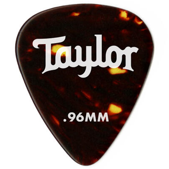 Taylor Celluloid 351 Guitar Picks Tortoise Shell 0,96 mm 12-Pack