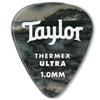 Taylor Premium 351 Thermex Guitar Picks Black Onyx 1,0 mm 6-Pack