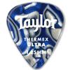 Taylor Premium 351 Thermex Guitar Picks Blue Swirl 1,0 mm 6-Pack