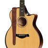 "Taylor 2"" Vegan Leather Guitar Strap Medium Brown"