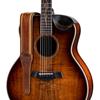 "Taylor Spring Vine 2.5"" Leather Guitar Strap Medium Brown"